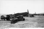 German Bf 109 fighters at rest, Bulgaria, 1941