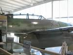Me 262 Schwalbe jet fighter on display at Naval Air Station Joint Reserve Base Willow Grove, Horsham, Pennsylvania, United States, 2 Nov 2007, photo 6 of 6