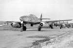 Me 262 Schwalbe jet fighters, date unknown