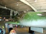 Me 262 Schwalbe jet fighter on display at Naval Air Station Joint Reserve Base Willow Grove, Horsham, Pennsylvania, United States, 2 Nov 2007, photo 4 of 6