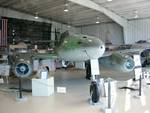 Me 262 Schwalbe jet fighter on display at Naval Air Station Joint Reserve Base Willow Grove, Horsham, Pennsylvania, United States, 2 Nov 2007, photo 5 of 6