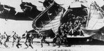 German soldiers simulating an airborne assault from a Me 323 Gigant aircraft, date unknown