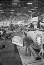 P-51 fighters being prepared for transfer to Republic of China Air Force, 1950s, photo 2 of 2