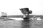 P2Y aircraft taxiing on water, date unknown