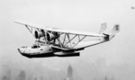 P2Y aircraft (possibly P2Y-1J built for Japan) in flight, circa 1934