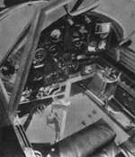 Cockpit of PZL.23 light bomber, date unknown