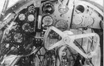 Cockpit of PZL.37 bomber, date unknown