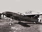 Re.2001 Falco II fighter modified to be a dive bomber with a 250kg bomb, date unknown