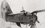 Ro.37 Lince aircraft aboard a naval vessel, date unknown