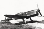 SAI.207 light fighter resting at an airfield, date unknown, photo 1 of 3