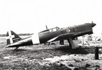 SAI.207 light fighter resting at an airfield, date unknown, photo 2 of 3