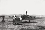 SAI.207 light fighter resting at an airfield, date unknown, photo 3 of 3