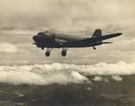 C-47 Skytrain in flight, date unknown