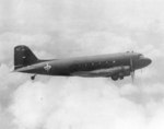 C-47 Skytrain aircraft of China National Aviation Corporation in flight, date unknown