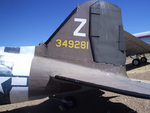C-47 Skytrain, tail fin, Hill Aerospace Museum, Utah, Aug 2006