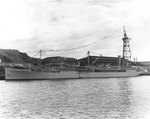Oiler Patoka at Balboa, Panama Canal Zone, 11 Feb 1940; note two SOC floatplanes amidships