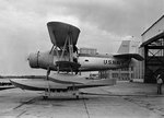 SOC-1 Seagull aircraft parked on the seaplane apron at a Naval Air Station in the United States, 30 Oct 1935