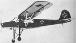 Fi 156 Storch in flight, date unknown