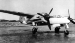 Prototype V1 of Ta 154 Moskito night fighter, circa mid- to late-1943, photo 2 of 2