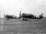 P-47 Thunderbolt fighters