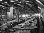 Ventura aircraft being built for the British Royal Air Force, Vega Aircraft Corporation plant, Burbank, California, United States, Jun 1941