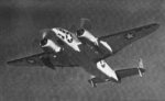 Ventura aircraft in flight, 1942