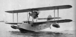 Walrus aircraft taxiing on water, date unknown