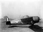 British Martlet IV (Wildcat) fighter at Naval Air Station, Anascotia, Washington DC, 21 Apr 1942, photo 1 of 2