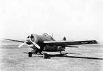 British Martlet IV (Wildcat) fighter at Naval Air Station, Anascotia, Washington DC, 21 Apr 1942, photo 2 of 2