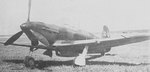 Yak-7B fighter with M-105PF engine, no. 22-03, built in factory no. 153 in Novosibirsk, Russia, date unknown