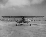 YO-51 Dragonfly prototype aircraft at rest, 1940