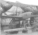 Captured MXY7 Ohka Model 11 aircraft I-18, Yontan Airfield, Okinawa, Japan, Apr 1945, photo 7 of 7