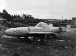 Captured MXY7 Ohka Model 11 aircraft I-18, Yontan Airfield, Okinawa, Japan, Apr 1945, photo 6 of 7