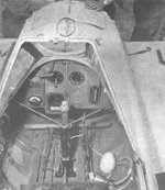 Cockpit of a MXY7 Ohka Model 11 aircraft, date unknown