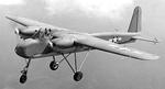 TDN-1 drone in manned flight, 1943
