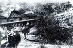 Chinese troops near the Tianxing Pavilion in southeastern Changsha, Sep 1941
