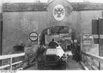 German Army SdKfz. 221 armored car crossing from Passau, Germany into Schärding, Austria, 13 Mar 1938