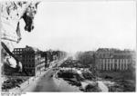 Ruins of Hotel Adlon and surroundings on Unter den Linden, Berlin, Germany, 23 Mar 1950