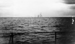 Hood exploding at Denmark Strait, seen from Prinz Eugen, 24 May 1941