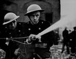 As eary as Jul 1939, British firefighters prepared for war near London