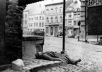 Killed German soldier in Stavelot, Belgium, 2 Jan 1945