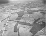 Aerial photograph taken by one of the Doolittle Raiders during the attack, 18 Apr 1942, photo 3 of 3