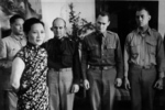 Song Meiling with Brigadier General James Doolittle, Colonel John Hilger, and 1st Lieutenant Richard Cole, Chongqing, China, 29 Jun 1942