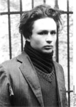 Polish Jew Marcel Rayman, member of the French resistance, after being arrested by Germans, 1943-1944