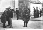 French resistance fighters being arrested, France, Jul 1944