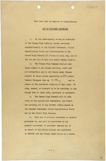 German instrument of surrender, page 1 of 2