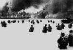Troops of 2nd Battalion, US 165th Infantry at Yellow Beach Two, Butaritari, Makin Atoll, Gilbert Islands, 20 Nov 1943