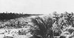 Looking east down the airfield, Betio, Tarawa Atoll, 24 Nov 1943