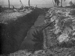 Japanese anti-tank ditch on Makin, Gilbert Islands; seen in US Army publication TM E 30-480