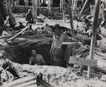 American base at Tarawa, Gilbert Islands, Nov 1943; note sign